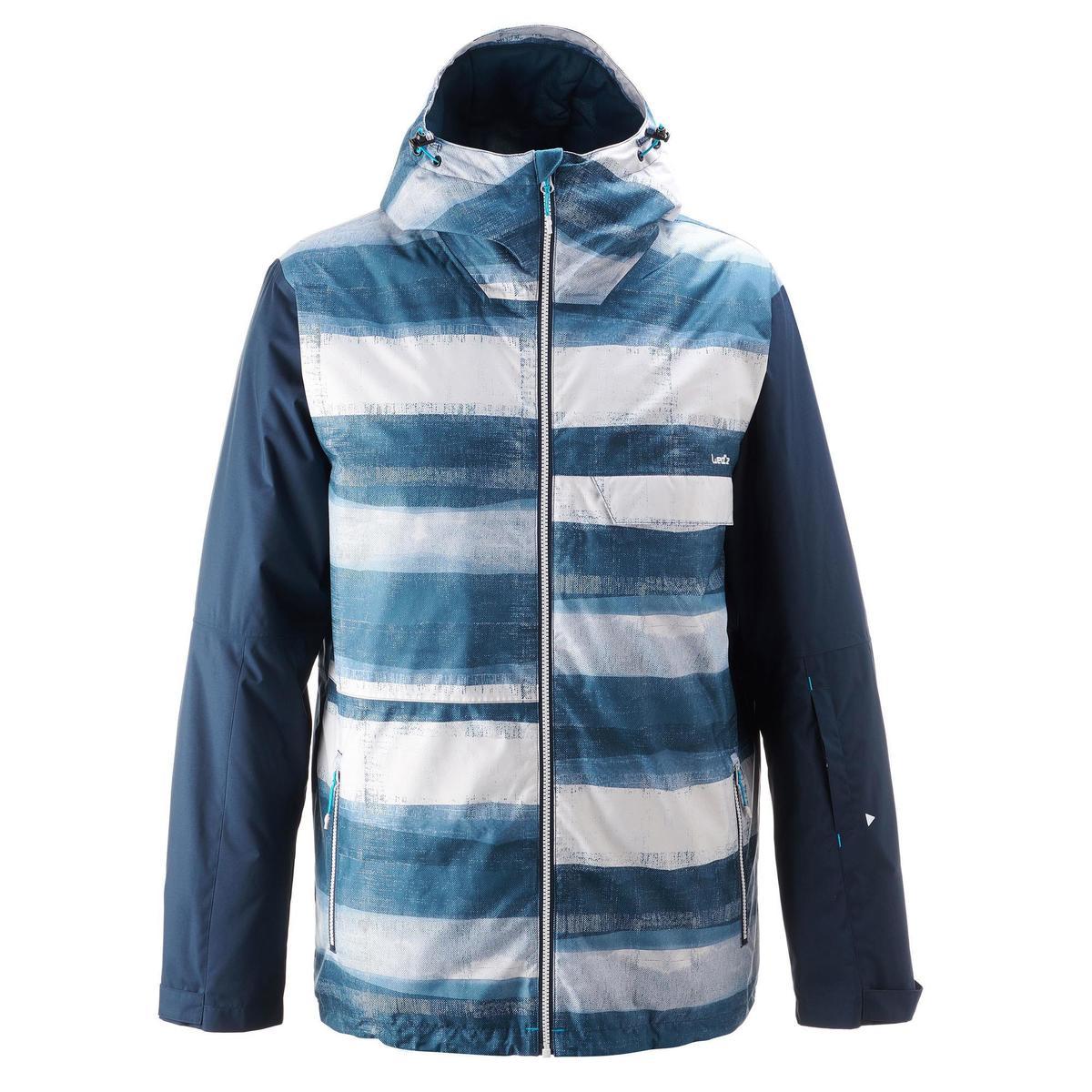 Bild 2 von Snowboardjacke SNB JKT 100 Herren Print blau