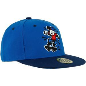 Schirmmütze Skater-Cap Cap500 Camo Kinder blau