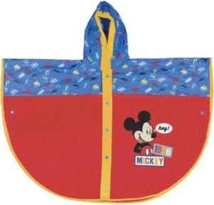 Regenponcho Mickey Mouse, gr. 114-126 Gr. 110/122 Jungen Kinder