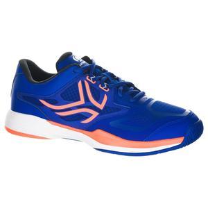 Tennisschuhe TS560 Multicourt Herren blau/orange