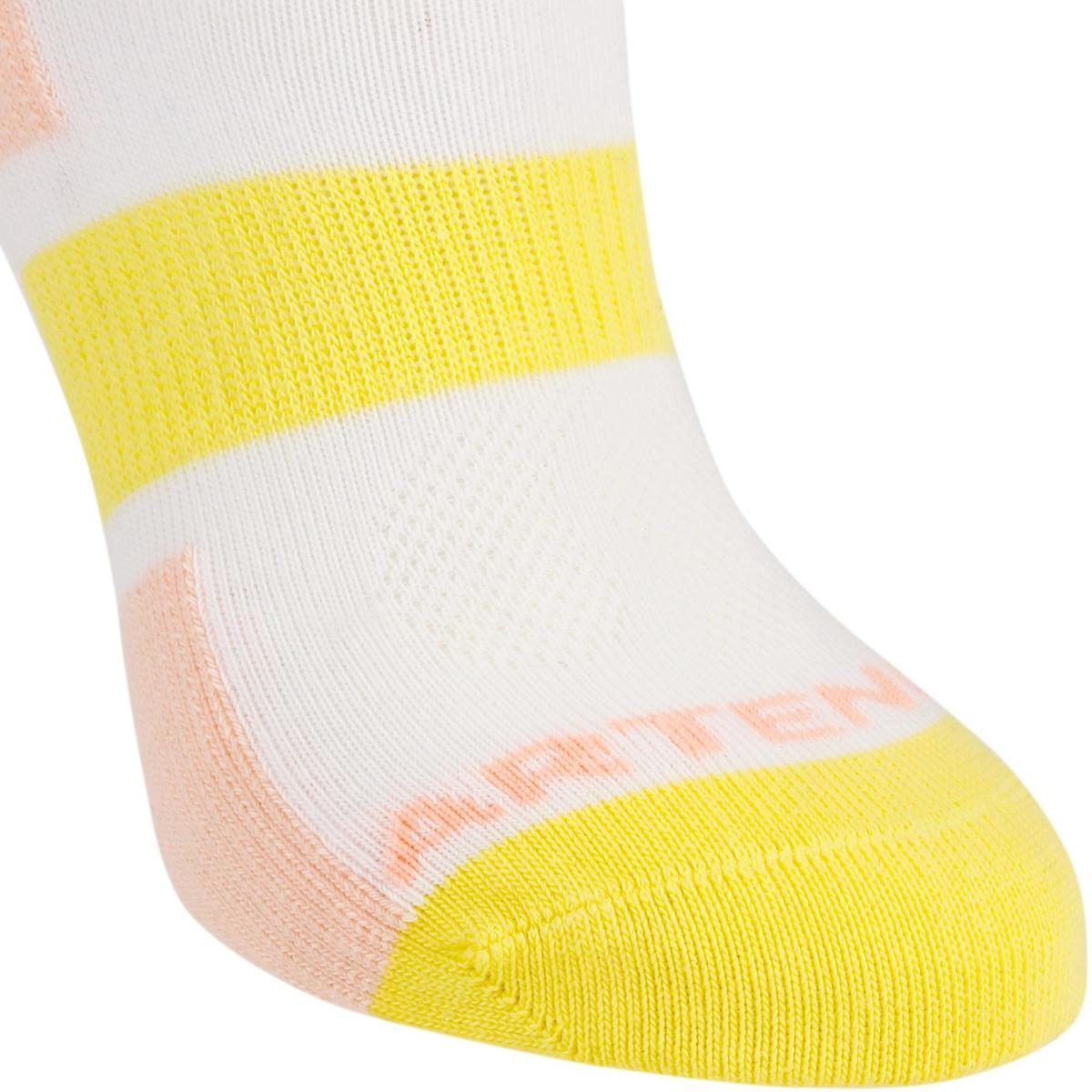 Bild 4 von Tennissocken RS 160 Mid Kinder 3er Pack rosa/gelb