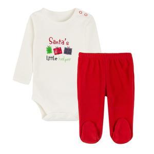 Baby Set Langarmbody & Strampelhose