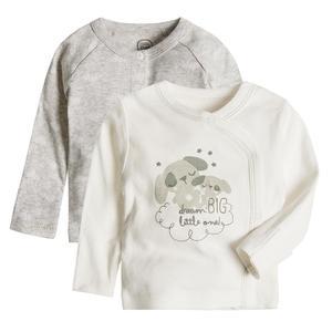 Baby Wickelshirt 2er Pack
