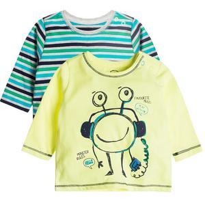 Baby Langarmshirt 2er Pack für Jungen