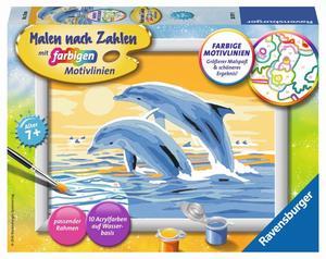 Ravensburger Malen nach Zahlen Freunde des Meeres