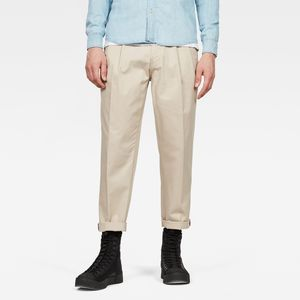 Bronson Pleated Relaxed Tapered Chino