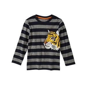 Kids Jungen-Shirt mit Tiger-Aufdruck