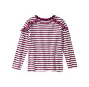 Kids Mädchen-Shirt mit Glitzerstreifen