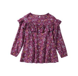 Kids Mädchen-Bluse mit wunderschöner Rüsche