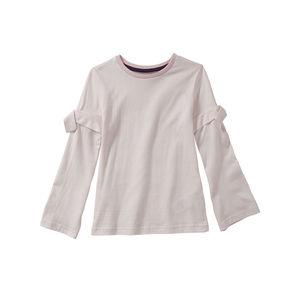 Kids Mädchen-Shirt mit Schleifen an den Ärmeln