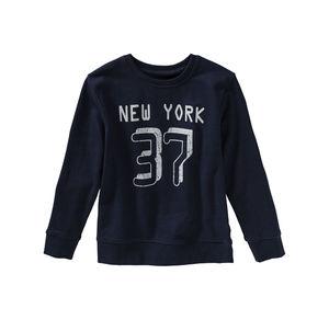 Kids Jungen-Sweatshirt mit coolem Frontaufdruck