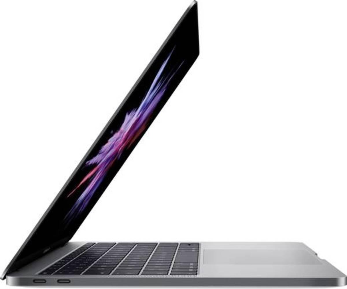 Bild 2 von Apple MacBook Pro 33 cm (13 Zoll) Intel Core i5 8 GB 128 GB Intel Iris Plus Graphics macOS Sierra Spacegrau