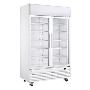 METRO Professional Glastür-Umluft-Kühlschrank GSC 1100G