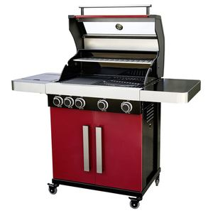 Tarrington House Gasgrill Mocton 4-flammig Rot