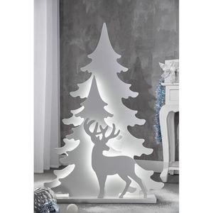 Tarrington House LED-Baum-Silhouette 110 cm
