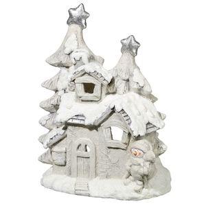 Tarrington House Windlicht Haus 45 cm