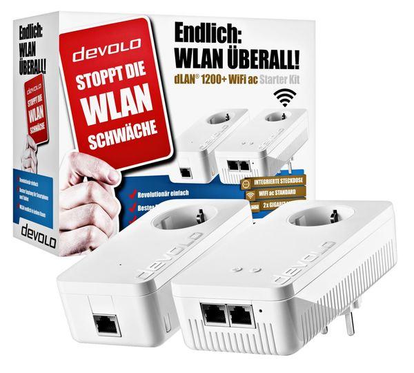 Devolo dLAN 1200+ WiFi ac Powerline Starter Kit