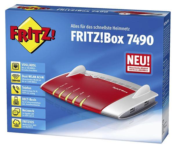 Avm Fritz! Box 7490