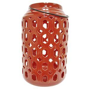 Tarrington House Keramik-Laterne Burgund 39,5 cm