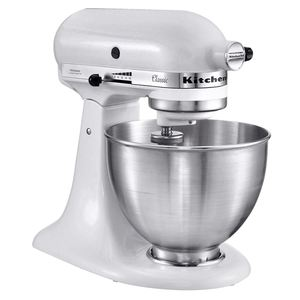 Kitchenaid Küchenmaschine 5K45SSEWH Weiß