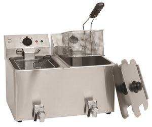 METRO Professional Fritteuse GDF3028 2x8L Edelstahl