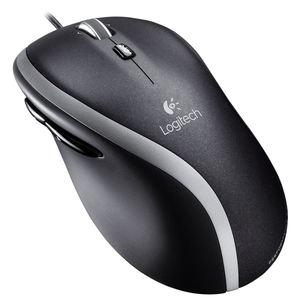 Logitech Corded Mouse M500 Refresh Schwarz