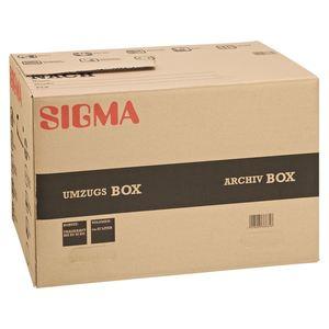 Sigma Umzugsbox Braun