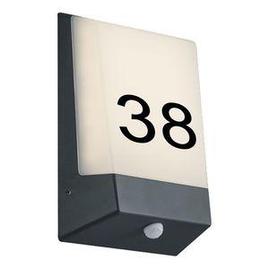home24 LED-Aussenwandleuchte Kasai