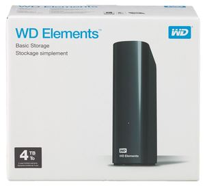 Western Digital Elements Externe Festplatte