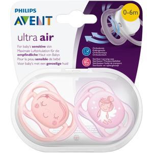 PHILIPS AVENT Beruhigungssauger Ultra Air Gr. 1 (0-6 Monate) Mädchen