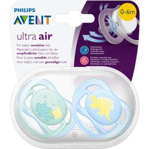 PHILIPS AVENT Beruhigungssauger Ultra Air Gr. 1 (0-6 Monate) Junge