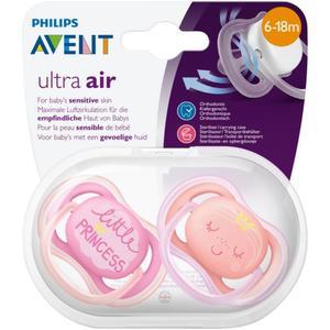 PHILIPS AVENT Beruhigungssauger Ultra Air Gr. 2 (6-18 Monate) Mädchen