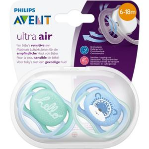 PHILIPS AVENT Beruhigungssauger Ultra Air Gr. 2 (6-18 Monate) Junge