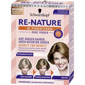 Schwarzkopf RE-NATURE RE-NATURE Re-Pigmentierung für Frauenhaar medium