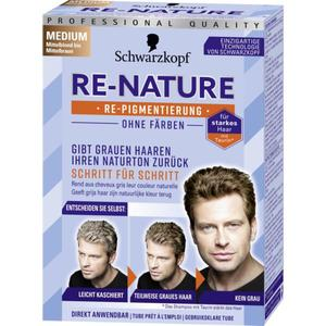 Schwarzkopf RE-NATURE RE-NATURE Re-Pigmentierung für Männerhaar medium
