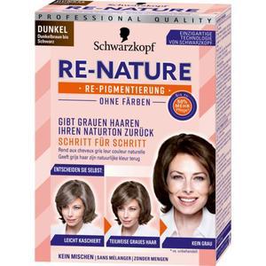 Schwarzkopf RE-NATURE Re-Pigmentierung für Frauenhaar dunkel