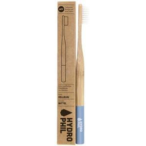 HYDROPHIL Nachhaltige Zahnbürste hellblau mittelweich