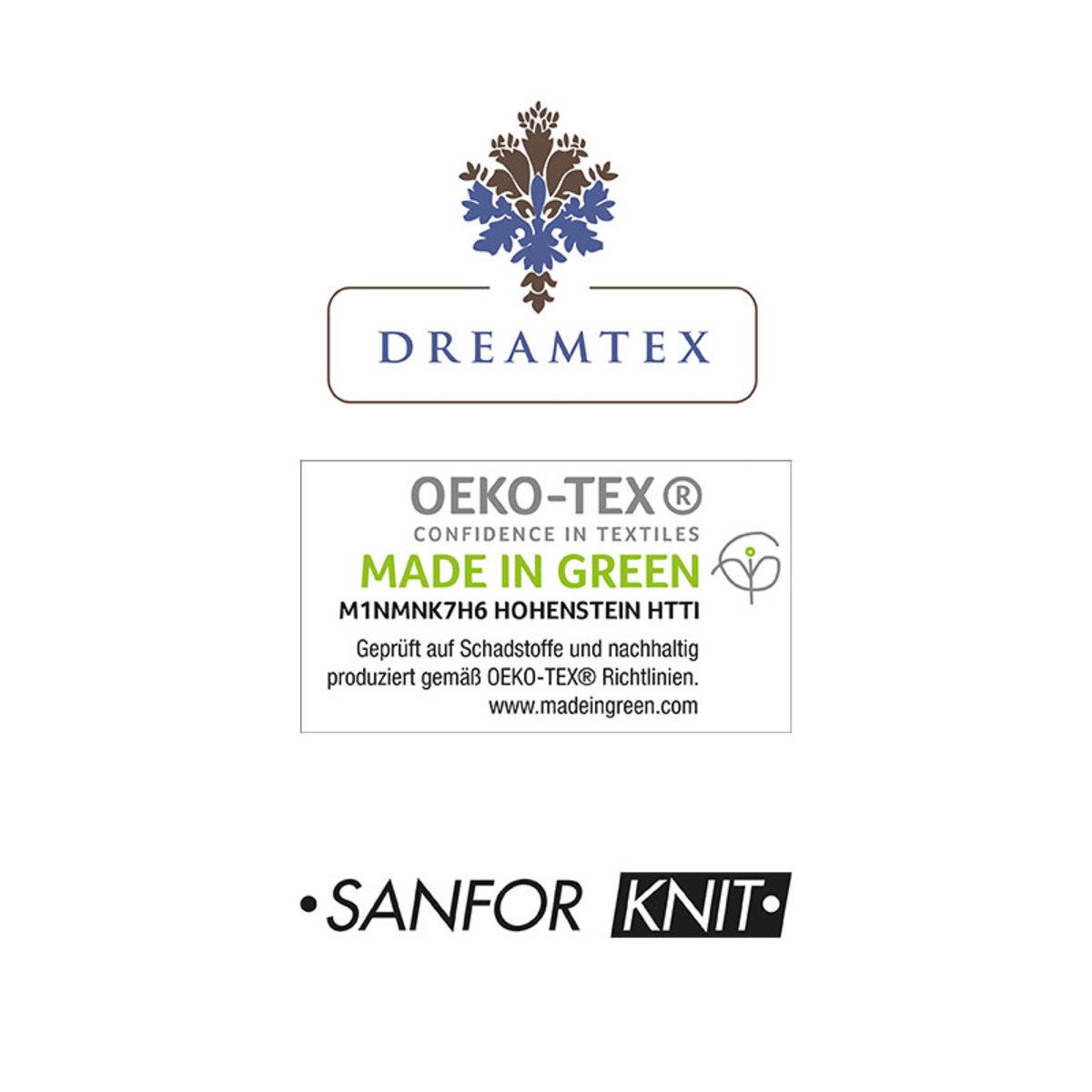 Bild 3 von DREAMTEX Spannbezug 2er Set für Gesundheitskissen / Nackenstützkissen - Silber