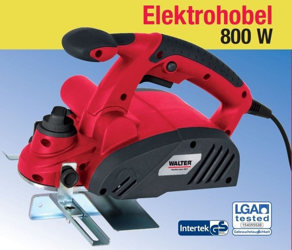 Walter Elektrohobel 800 W