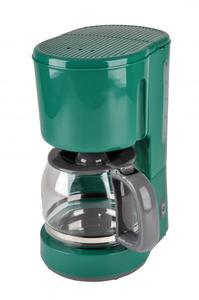 efbe schott Kaffeeautomat mit Glaskanne KA 1080.1 Grün 1.5 Liter