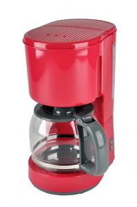 efbe schott Kaffeeautomat mit Glaskanne KA 1080.1 Rot 1.5 Liter