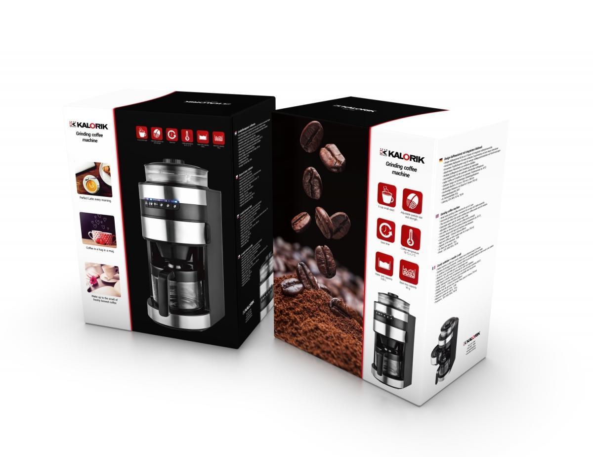Bild 3 von Kalorik 6-Tassen-Kaffeeautomat mit Mahlwerk TKG CCG 1006