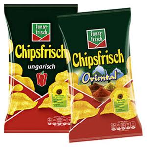 Funny Frisch Chipsfrisch versch. Sorten, jeder 175-g-Beutel