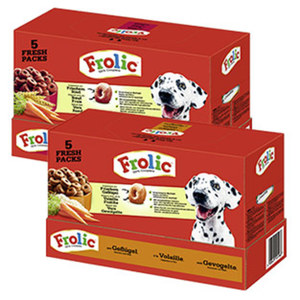 Frolic  Hunde-Trockennahrung versch. Sorten, jede 7,5-kg-Packung