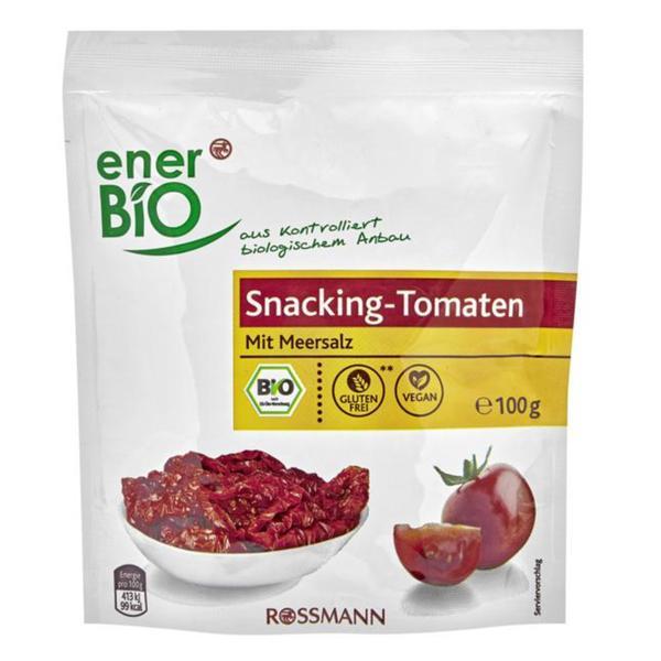 enerBiO Bio Snacking-Tomaten mit Meersalz
