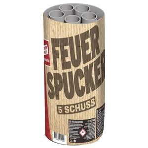 Feuerspucker Fontäne mit 5 Schuss-Effekten