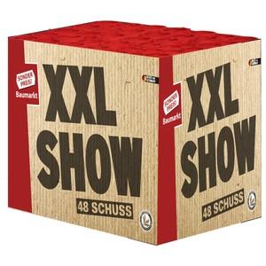 XXL Show Feuerwerksbatterie mit 48 Schuss