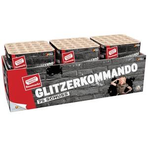 Glitzerkommando Batterie-Feuerwerk 75 Schuss