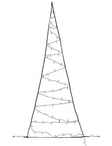 FAIRYBELL: LED Weihnachtsbaum für die Tür