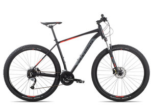 Axess Debris 2019 | 19 Zoll | black red grey